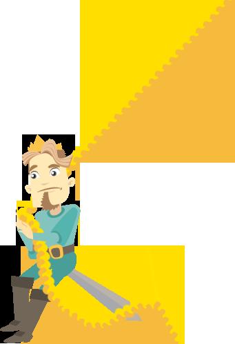 Raperonzolo: il principe dondola sulle trecce