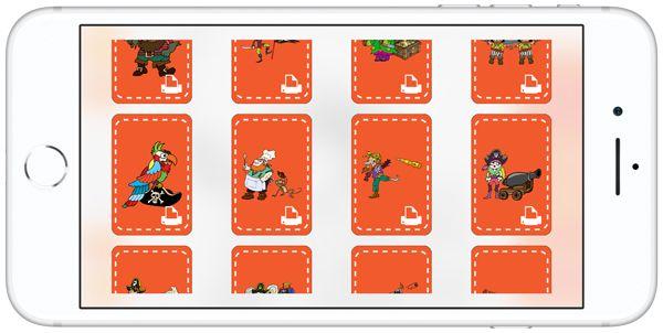 App Ditamatte: elenco di immagini con possibilità di stampa