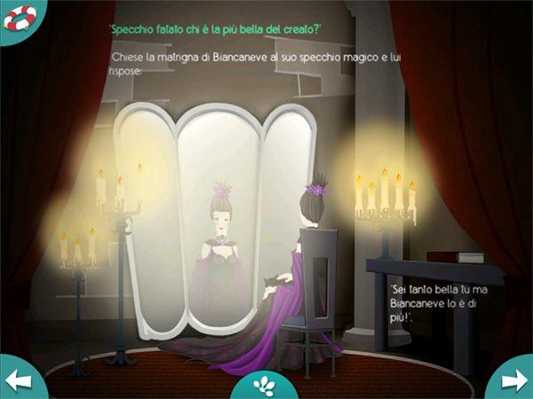 App per iOS: la fiaba classica dei fratelli Grimm Biancaneve, il racconto