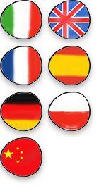 Lingue disponibili: italiano inglese francese spagnolo tedesco polacco cinese