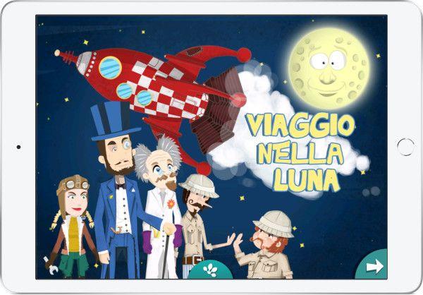App per iPhone e iPad Viaggio Nella Luna