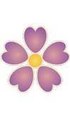 Tabellina del 5 con il fiore