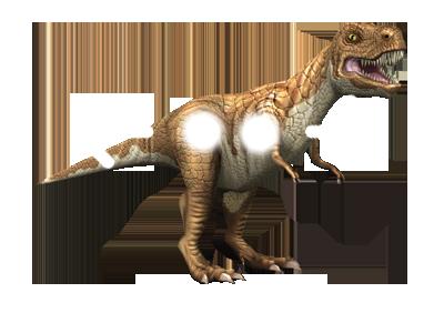 3D stickers animati dinosauri rotate rotazione