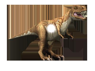 3D stickers animati dinosauri animazione