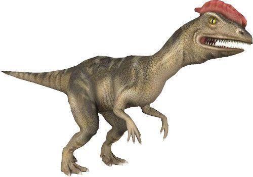 App dinosauri: dilofosauro