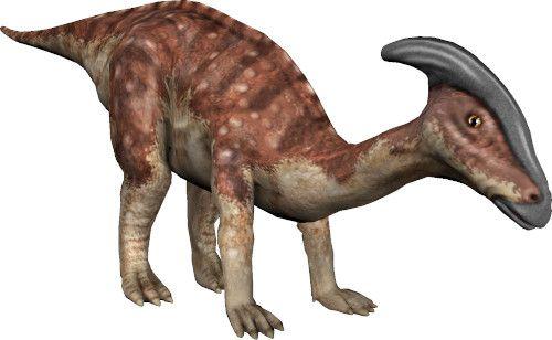 App dinosauri: parasaurolofo