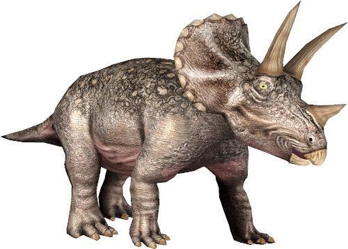 App dinosauri: triceratopo