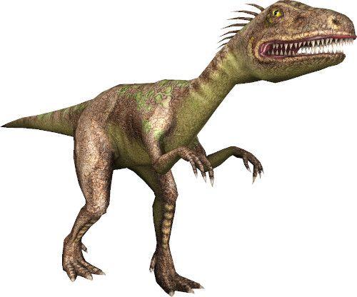 App dinosauri: velociraptor