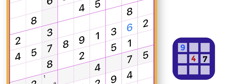 app sudoku per iOS e Android